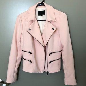 🎉HP🎉 Banana Republic Pink Moto Jacket